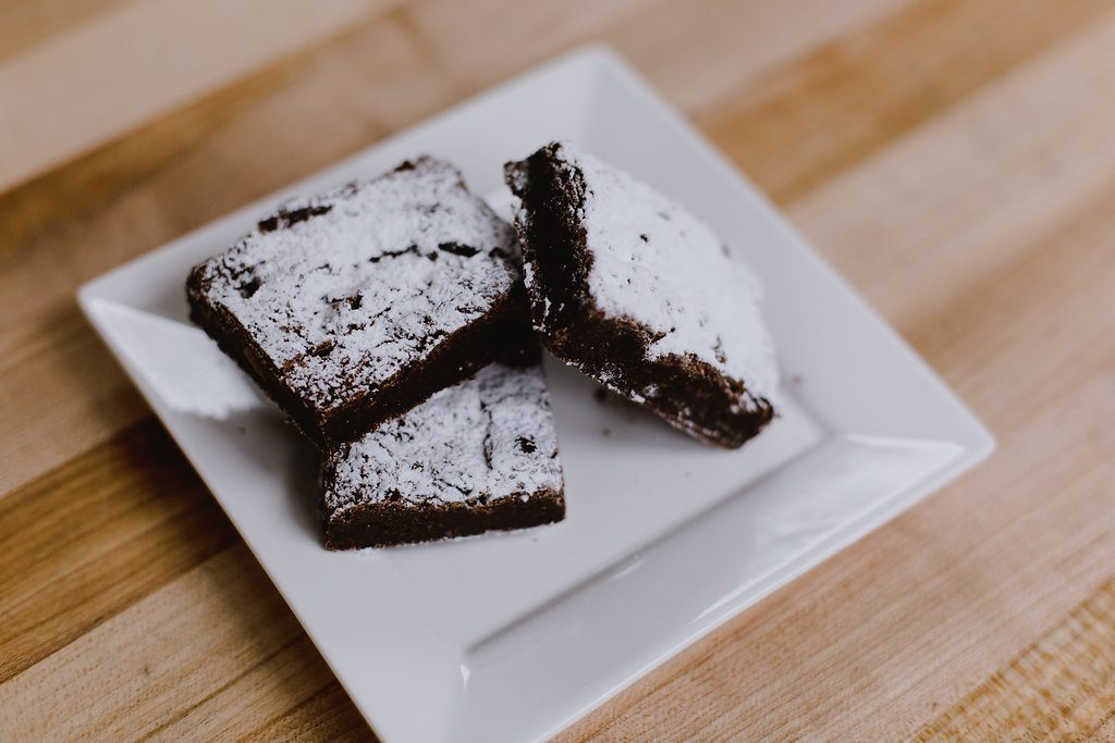 gluten free dairy free avocado brownies